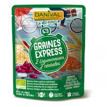 Danival - 2 céréales et 2 légumineuses BIO 250g