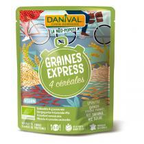 Danival - 4 céréales BIO 250g