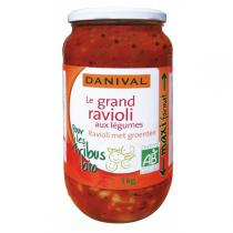 Danival - Grand ravioli aux légumes BIO 1kg