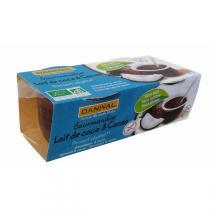 Danival - Kokosmilch-Kakao Dessert BIO 2x110 g