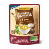 Danival - Suppe mit 8 Gemüsesorten 50 cl