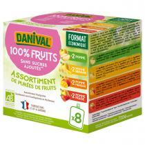 Danival - Poki 4 parfums panachés 8x90g