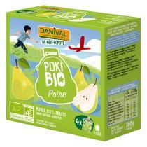 Danival - PokiBio Birne 4 x 90 g