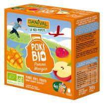 Danival - PokiBio Apfel-Mango 4 x 90 g