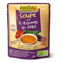 Danival - Gemüsesuppe, 5 Sorten BIO 500 ml