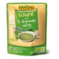 Danival - Grüne Gemüsesuppe BIO 500 ml