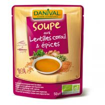 Danival - Korallen-Linsensuppe BIO 500 ml
