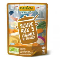 Danival - Gemüsesuppe BIO 500 ml