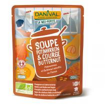 Danival - Soupe potimarron courge Butternut BIO 500ml