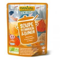 Danival - Soupe potimarron et quinoa BIO 500ml