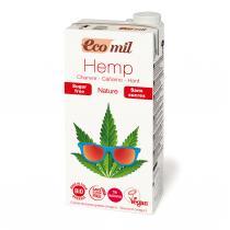 EcoMil - Boisson Végétale au Chanvre Sans Sucres BIO 1L
