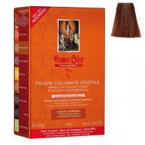 Henne Color - Pflanzliches Haarfärbepulver flammendes Mahagoni - 100g