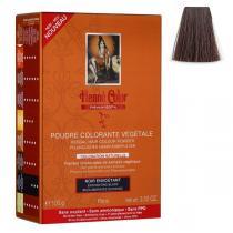 Henne Color - Pflanzliches Haarfärbepulver bezauberndes Schwarz - 100g
