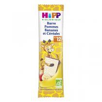 HiPP - Barre pommes bananes et céréales - 25g