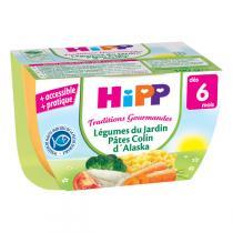 Hipp - Légumes du Jardin Pâtes Colin d'Alaska bol - 190g