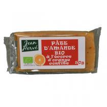 Jean Hervé - Lot de 3 Pâtes d'amande à l'écorce d'orange - 50g