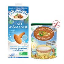 La Mandorle - 2-Pack Dairy Free Products - Breakfast