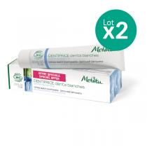 Melvita - Duo dentifrice dents blanches - 2 x 75ml