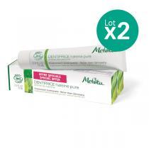 Melvita - Duo dentifrice Haleine pure - 2 x 75ml
