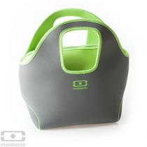 Monbento - MB Pop up sac isotherme réversible gris - vert