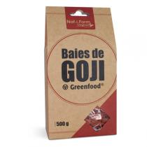 Nat & Form - Baies de Goji Green Food en Sachet de 500g