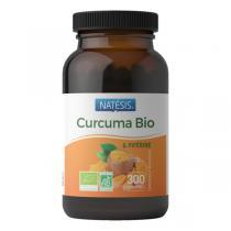 Natésis - Curcuma Bio 300 mg et poivre noir 10 mg - 300 comprimés