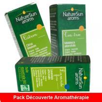 NatureSun Aroms - Pack Découverte Aromathérapie