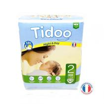 Tidoo - Pack 10 couches jetables MINI T2 3-6kg