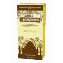 Tisanes & Traditions - Relax' & vous ! - Recharge 20 sachets