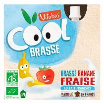 Vitabio - Cool Brassé Fraise Banane - 4 x 85g