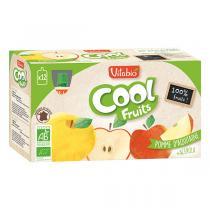 Vitabio - Cool fruits pomme acérola - gourdes de fruits- 12x90g