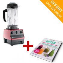 Vitamix - Mixeur Blender Vitamix 5200 - Rouge + livre offert