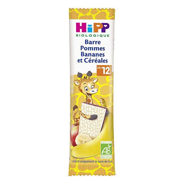 HiPP - Barre pommes bananes et cereales - 25g