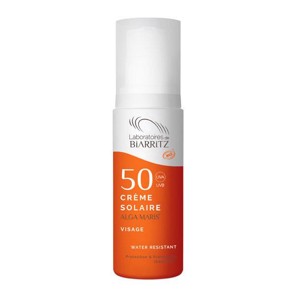 Laboratoires de Biarritz - Alga maris Crème solaire visage SPF 50 50ml