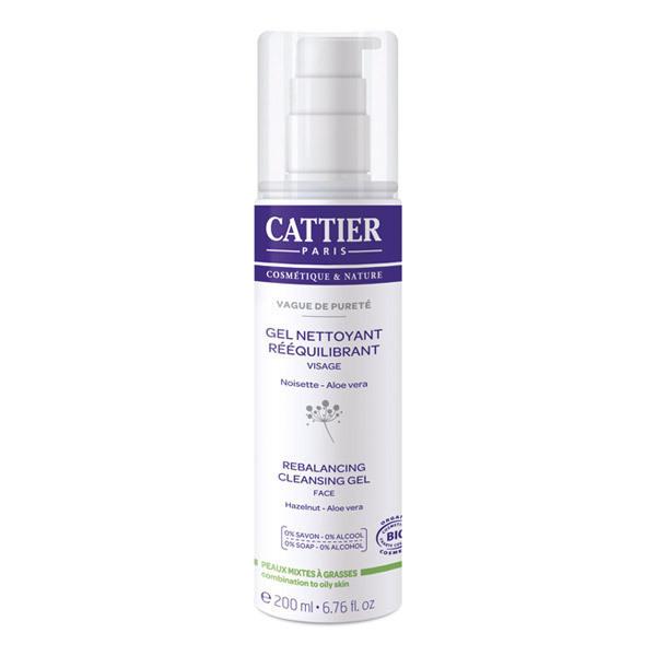 Cattier - Gel nettoyant rééquilibrant 200ml