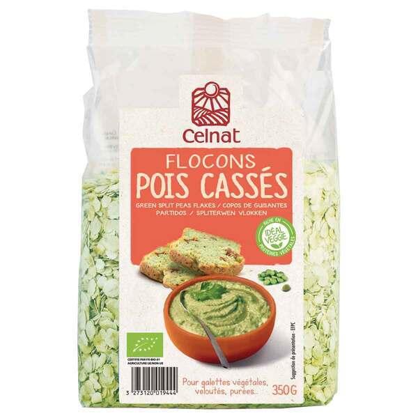 Celnat - Flocons de Pois Cassés BIO 350g