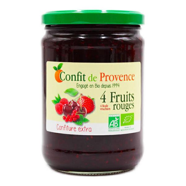 Confit de Provence - Confiture extra 4 Fruits Rouges 650g