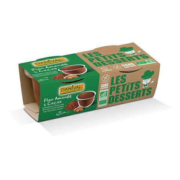 Danival - Flan amandes cacao BIO 2 x 110g