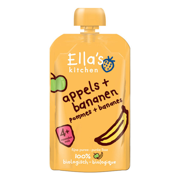 Ella's Kitchen - Apples Bananas From 4 months 90g