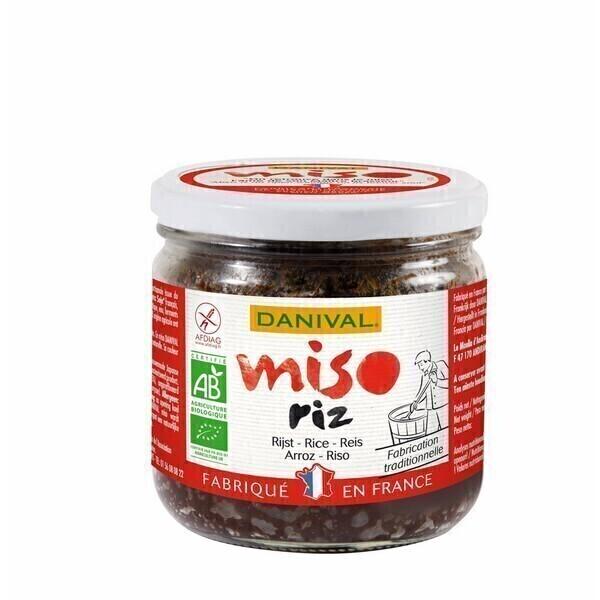 Danival - Bio Miso de arroz 390g