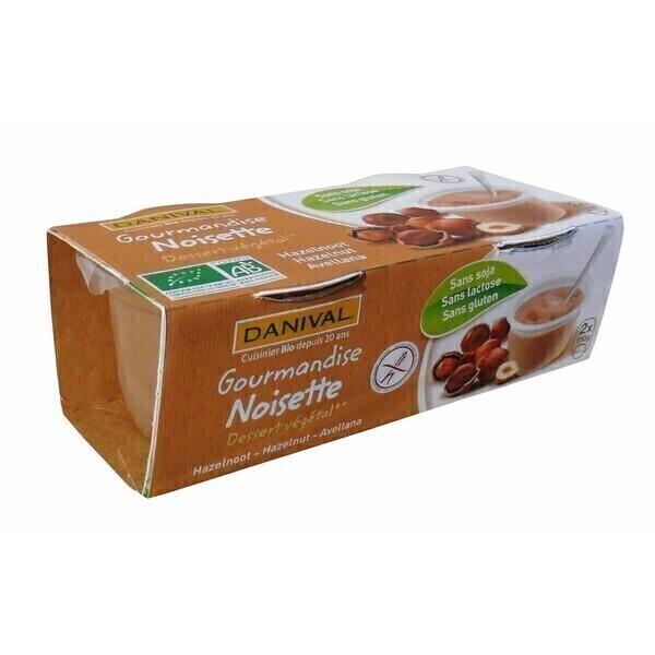 Danival - Gourmandises Noisettes BIO 2 x 110g