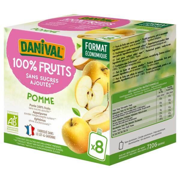 Danival - Poki pommes BIO 8 x 90g