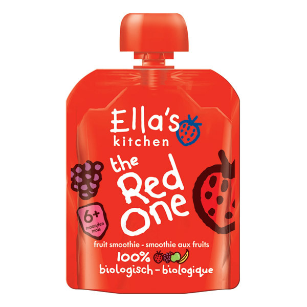 Ella's Kitchen - The Red One Smoothie From 6 months 90g