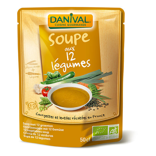 Danival - Soupe 12 légumes 500ml