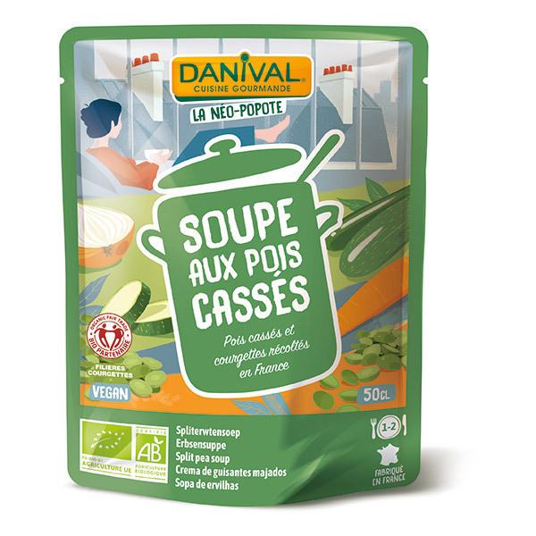 Danival - Soupe de pois cassés BIO 500ml