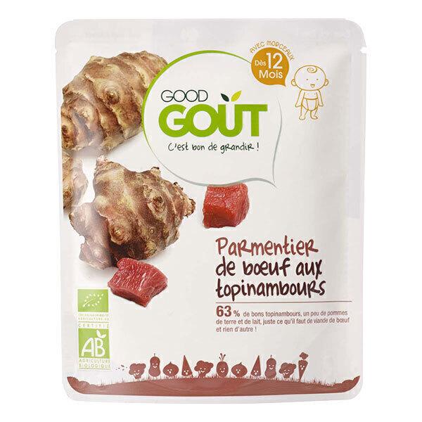 Good Gout - Plat préparé parmentier boeuf aux topinambours dès 12 mois 220g