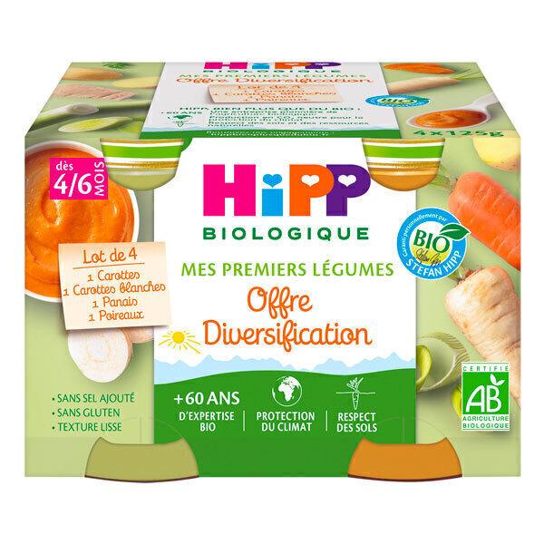 Hipp - Mes Premiers Légumes - 4x125g