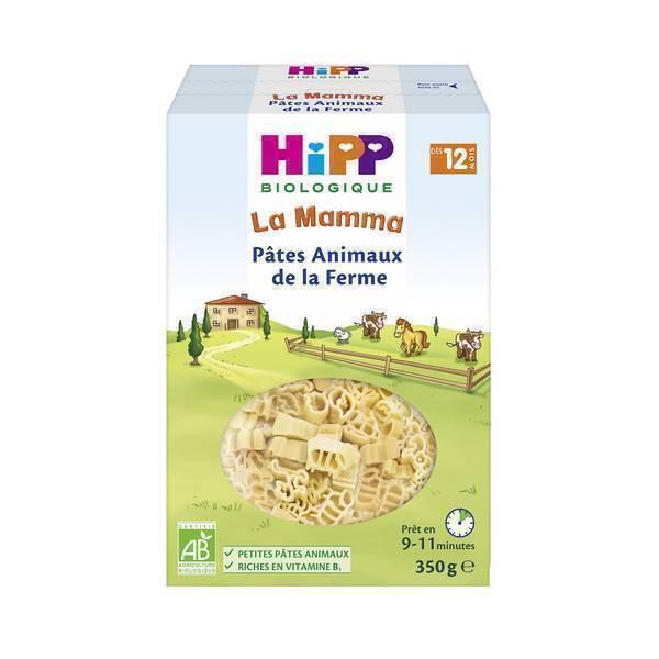 HiPP - Pâtes Animaux de la ferme - 350g