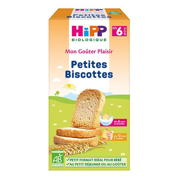 HiPP - Petites Biscottes dès 6 mois - Boîte de 100g