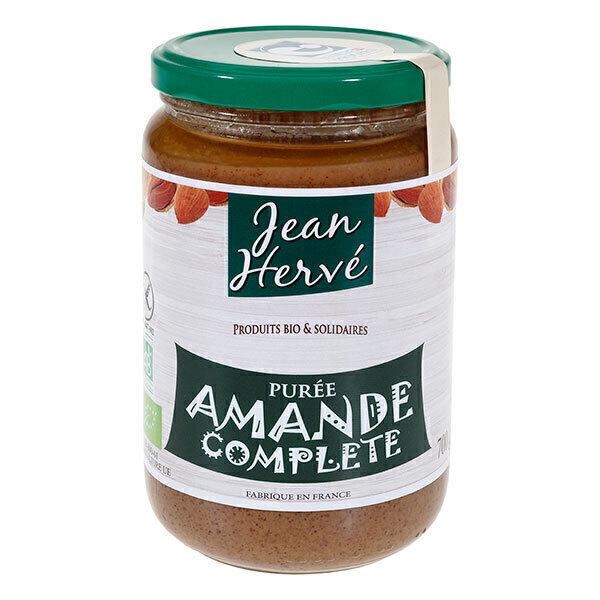 Jean Hervé - Lot de 3 Purées d'Amandes Complètes bio 700g